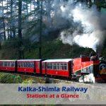 18 stations of Kalka Shimla Railway