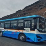 HRTC's Electric bus Himatarang starts to run from Manali to Rohtang