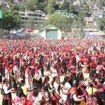 कुल्लू दशहरा में 4000 महिलाओं ने नाटी डालकर दिया पोषण और स्वच्छता का सन्देश
